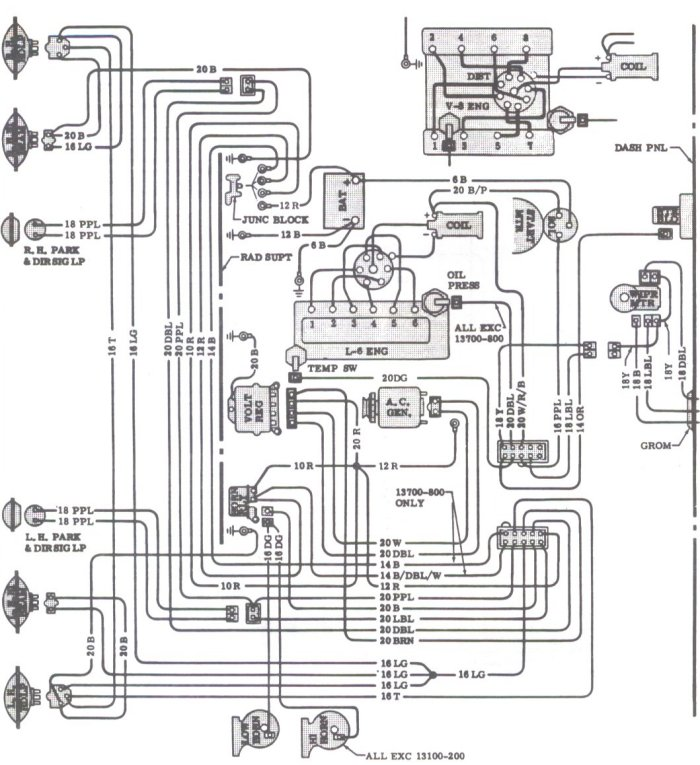 1967 Gto Rally Gauge Wiring Diagram 1966 GTO Ignition