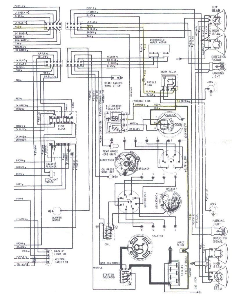 Engine Wiring Chevelle Reference Cd