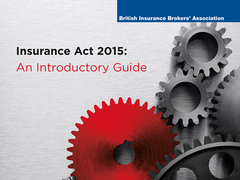BIBA and Mactavish set to launch introductory guide to the Insurance Act 2015 for UK brokers