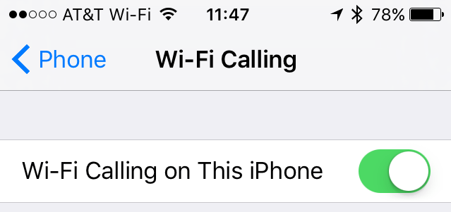 Enable Wi-Fi Calling to Improve Call Quality