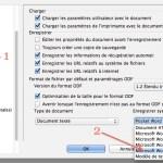 Copie d'écran sous OpenOffice