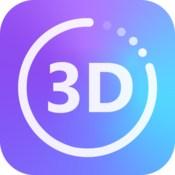 3d converter 2d to 3d video conversion icon