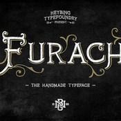 Creativemarket Furach Typeface Plus Bonus intro sale 245710 icon