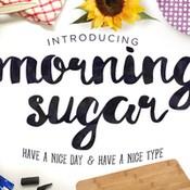 Creativemarket Morning Sugar Typeface Plus Extra 248359 icon