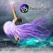 Corel ParticleShop logo icon