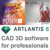 Cad 3d software for professionals 21 02 2016 logo 2 icon