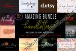 AMAZING BUNDLE HANDLETTERED (FONT AND VECTOR)