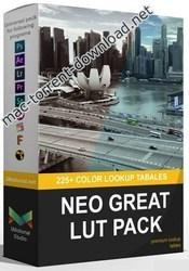 Neo Great LUTs – 225+ LUTs (Win/Mac) for Final Cut Pro