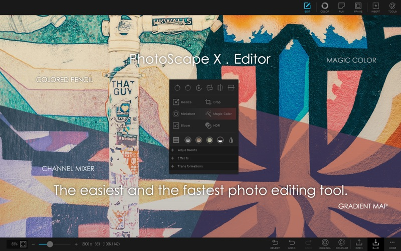 PhotoScape X - Photo Editor Screenshot 1