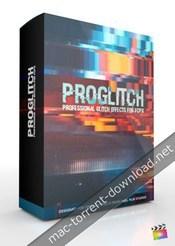 Pixel film studios proglitch professional glitch effects for fcpx icon