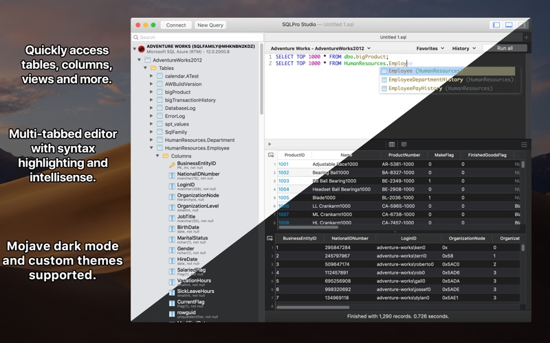 SQLPro Studio Screenshot 1