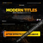Modern Promo Titles Pack for FCPX
