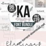 Best of 2018 BIG Font Bundle