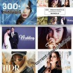 500+ Pro Photoshop Actions Bundle