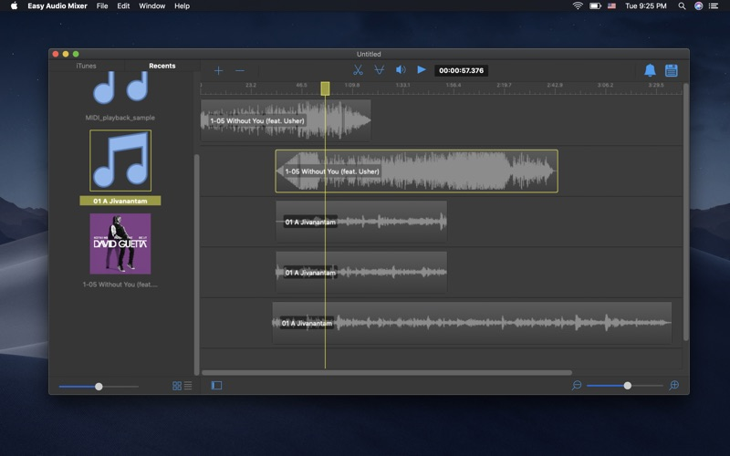 Easy Audio Mixer Screenshot 2