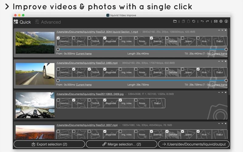 liquivid Video Improve Screenshot 1