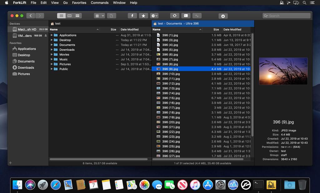 ForkLift 334 Screenshot 01