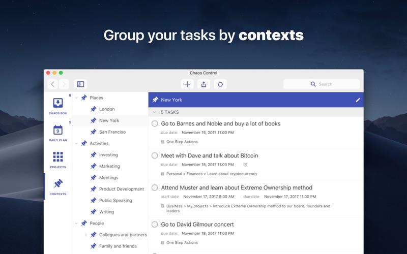 Chaos Control™: GTD Organizer Screenshot 4
