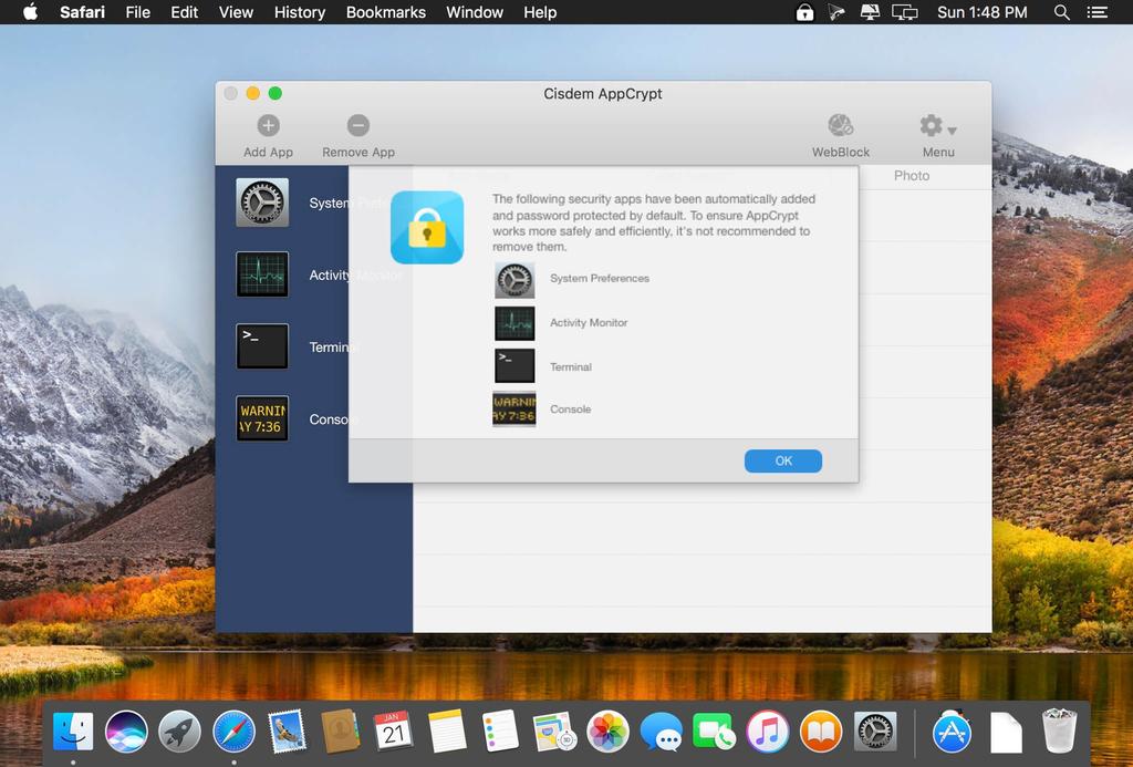 Cisdem AppCrypt 440 Screenshot 02