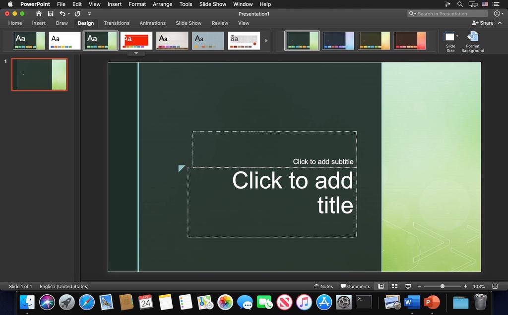 Microsoft Powerpoint 2019 1629 VL Screenshot 05 ikzebln