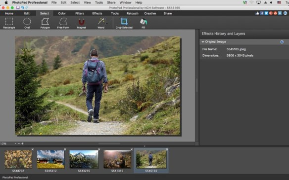 PhotoPad Professional Screenshot 04 obiib8n