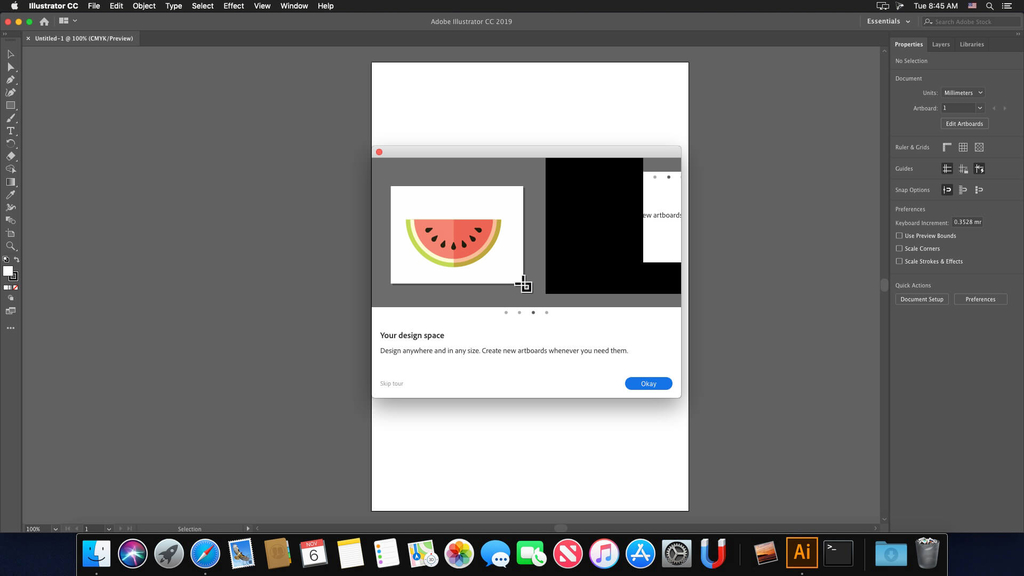 Adobe Illustrator CC 2019 v231 Screenshot 02 wqztjjn