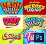 Game Logo Text Effect Styles Bundle