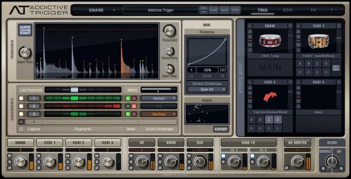 XLN Audio Addictive Trigger Complete v113 Win Mac Screenshot 01 cw1p6uy