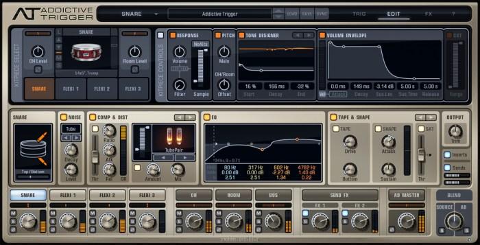 XLN Audio Addictive Trigger Complete v113 Win Mac Screenshot 02 cw1p6uy