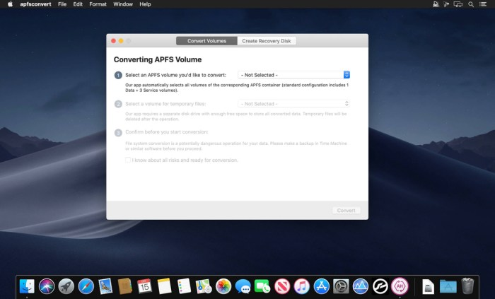 Paragon APFS to HFSplus Converter 10 Screenshot 01 1pgxxnjy