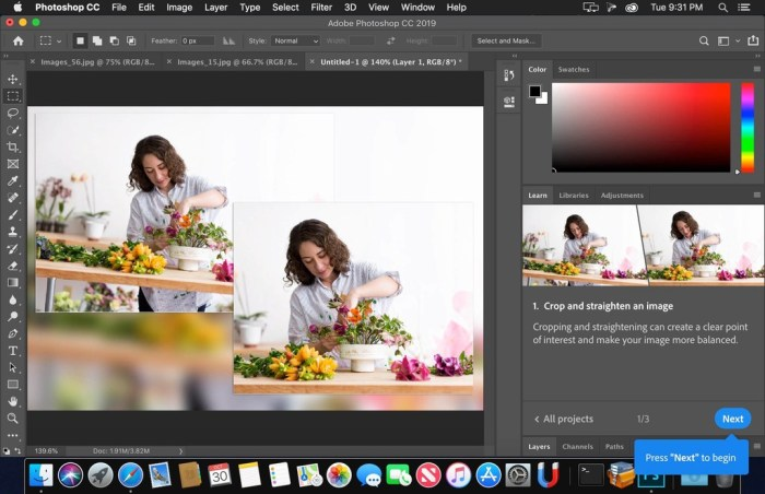 Adobe Photoshop CC 2018 v1919 Screenshot 02 11nifdky
