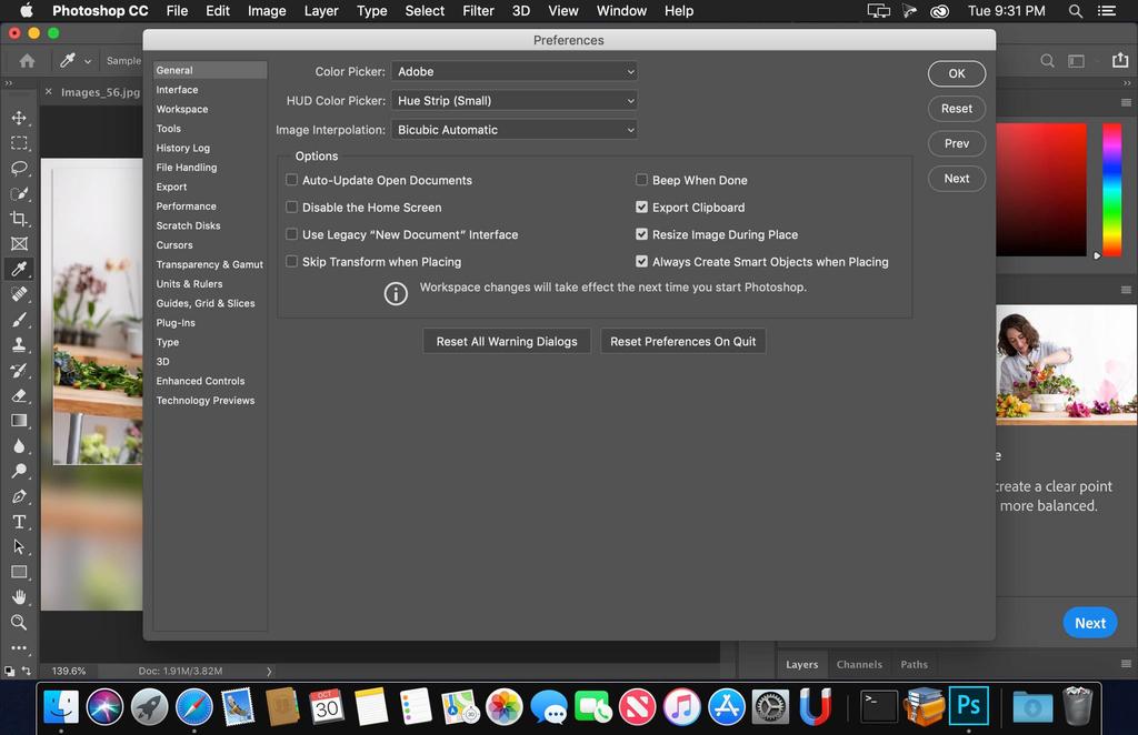 Adobe Photoshop CC 2018 v1919 Screenshot 03 m0rfnxy