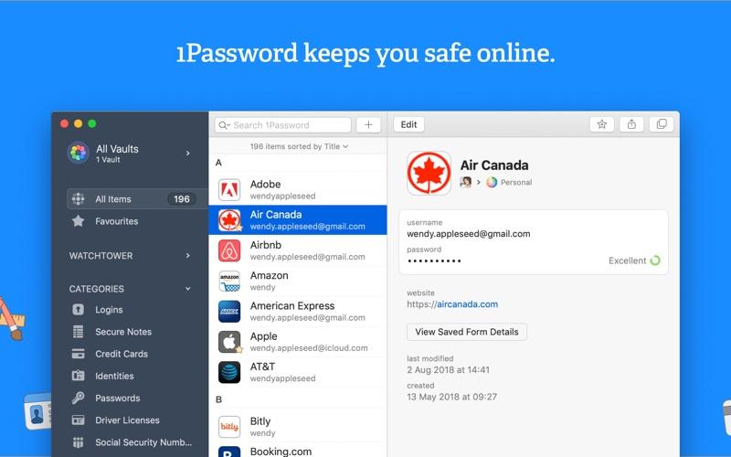 1Password 7 - Password Manager Screenshot 01 1lh6kjjy