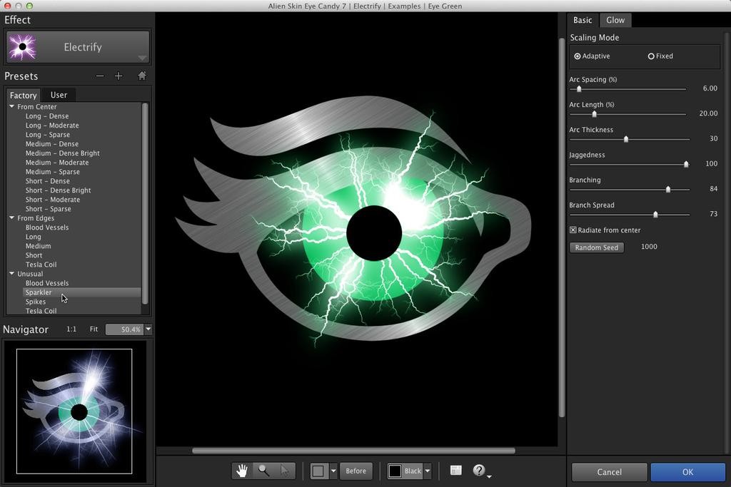 Alien Skin Eye Candy 72375 Screenshot 01 mv24p7y