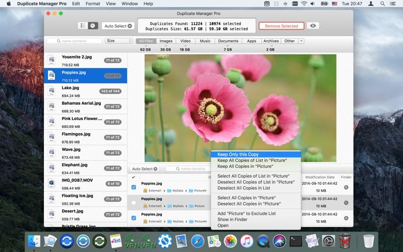 Duplicate Manager Pro Screenshot 02 kkgujy