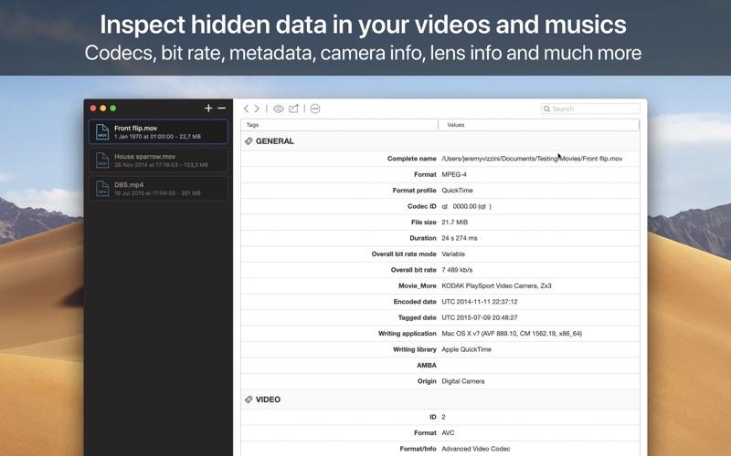 VideoScan Screenshot 01 lfhsjdn