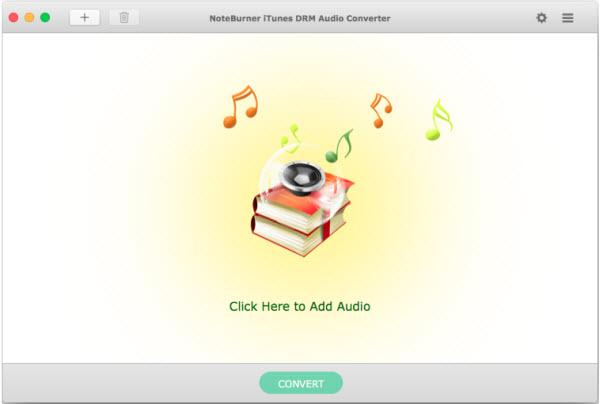NoteBurner iTunes DRM Audio Converter 247 Screenshot 01 t7fiagy