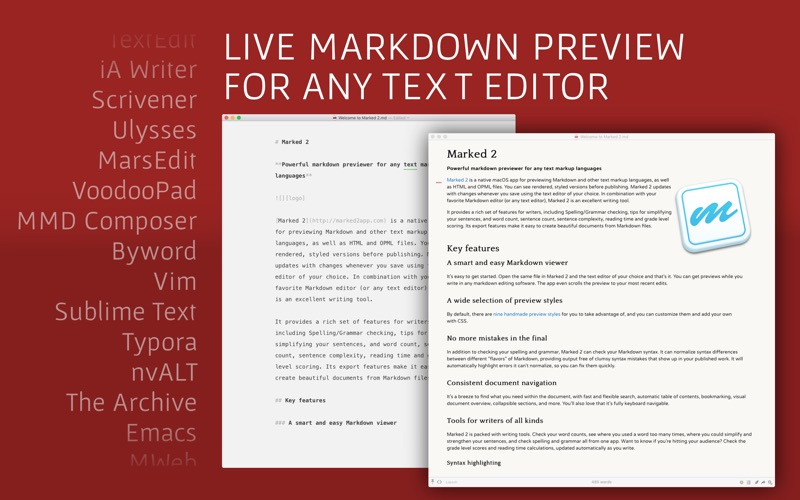 Marked 2 - Markdown Preview Screenshot 01 t7fiagy