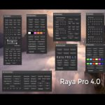 Raya Pro 4.0 Suite – Luminosity Masking Panel for Photoshop