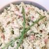 présentation du risotto aux asperges