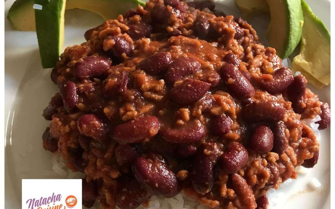 Chili con carne sans gluten