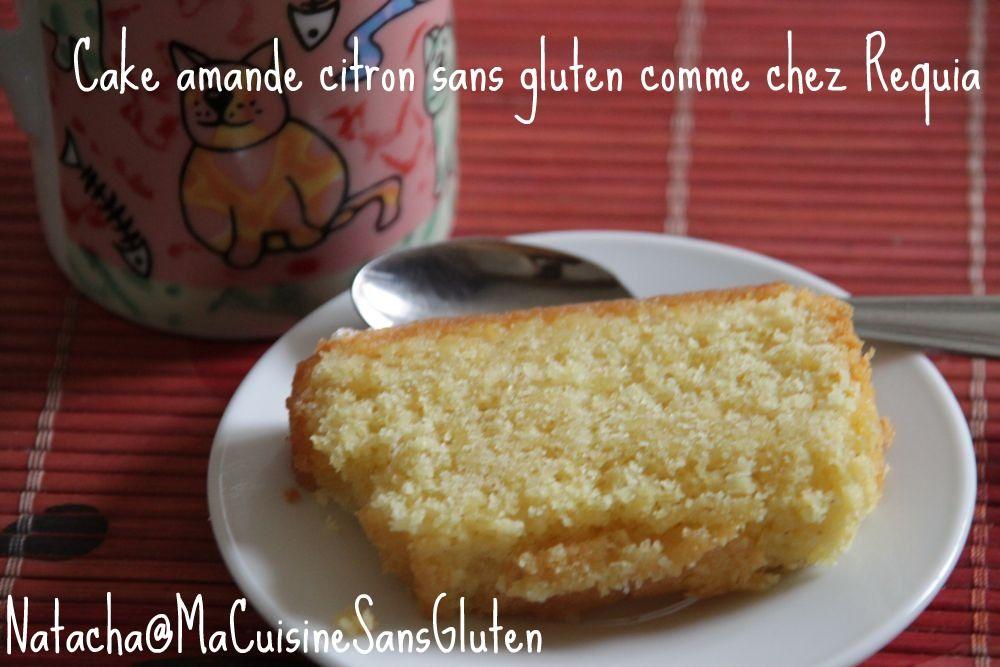 Cake amande et citron sans gluten d'après Requia