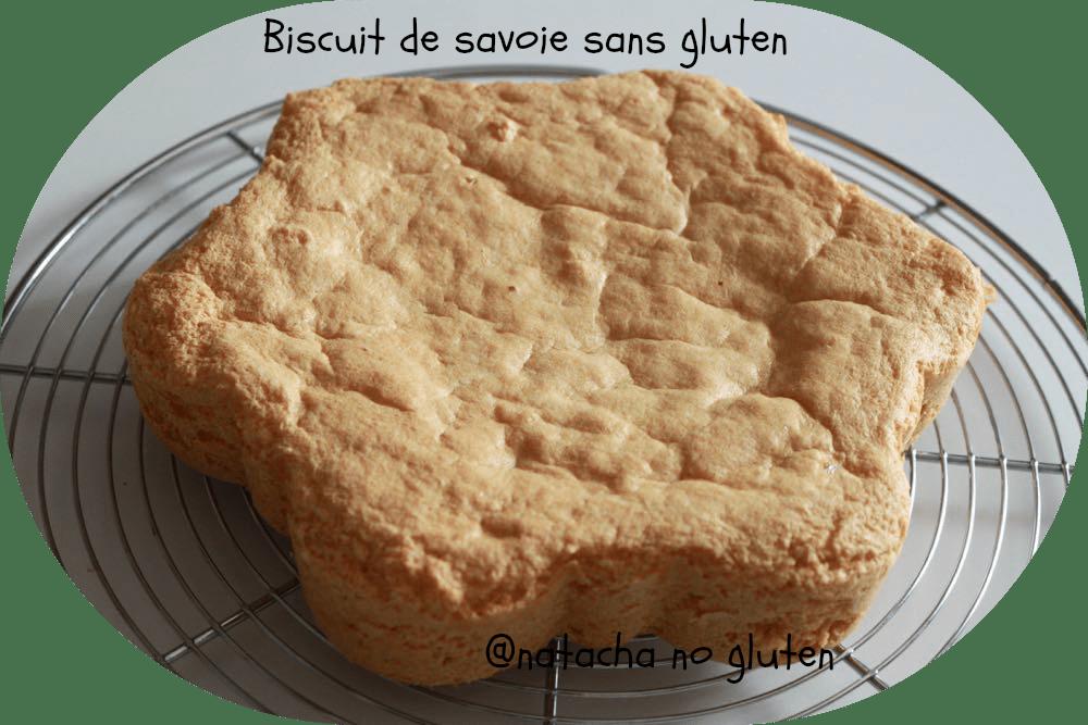 Le biscuit de savoie sans gluten