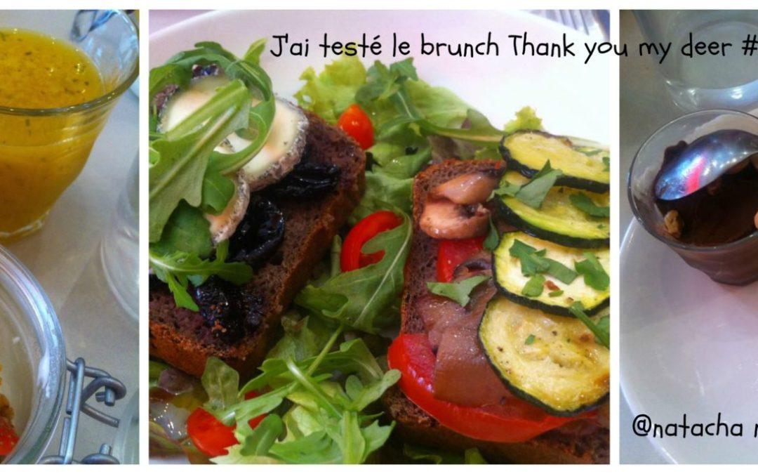 J'ai brunché sans gluten (Thank you my deer)(fermé)