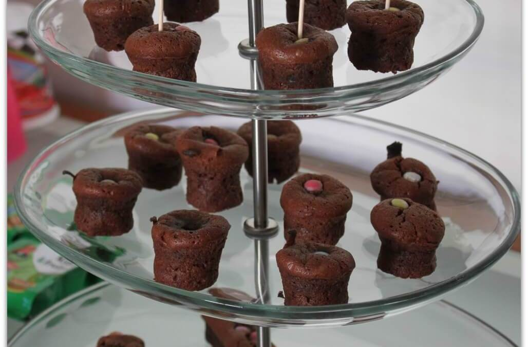 Mini moelleux au Chocolat sans gluten