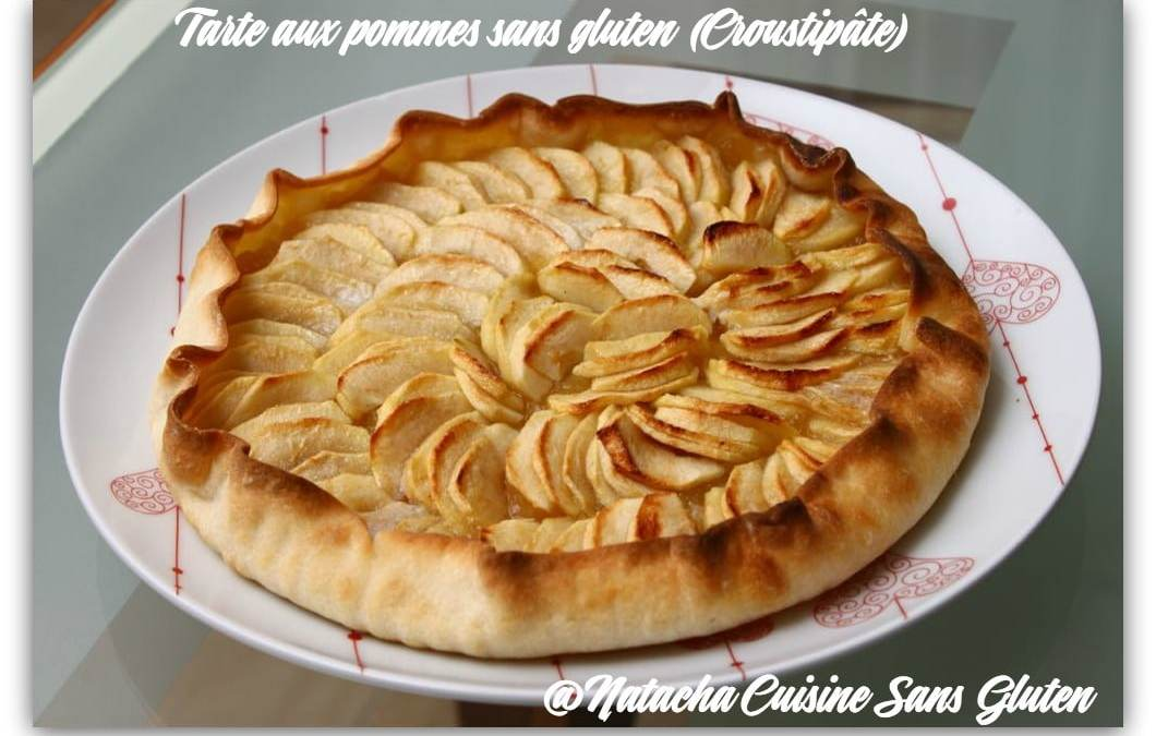 Tarte aux pommes sans gluten Croustipate
