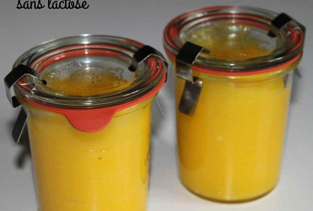Crème de citron ou Lemon Curd sans gluten et sans lactose