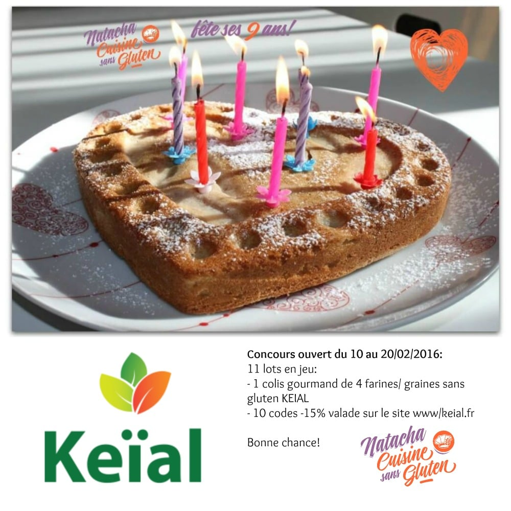 concours Keial 9 ans