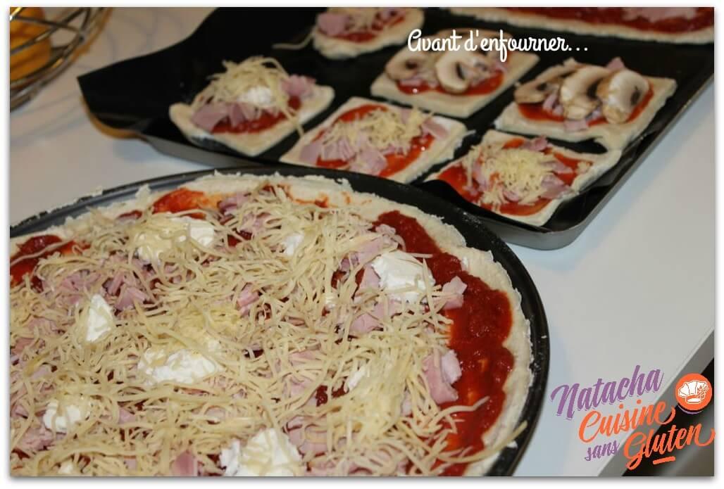 pizza mon fournil avant cuisson