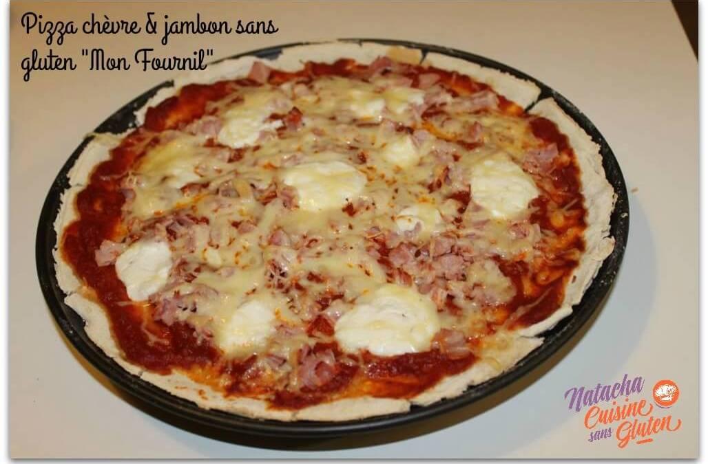 Pizza sans gluten (mix Mon fournil Bio)